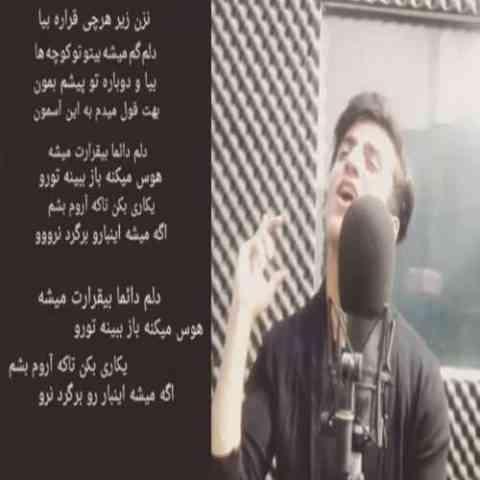 آهنگ بیقرار از رضا مریدی
