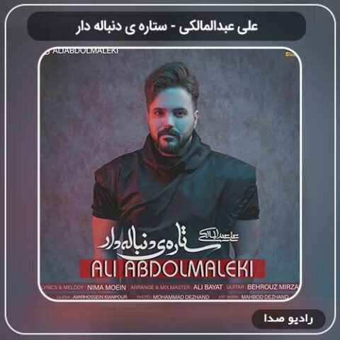 آهنگ جدید علی عبدالمالکی به نام ستاره ی دنباله دار